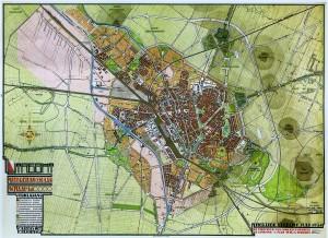 het herziene uitbreidingsplan van Berlage en Holsboer, 1924